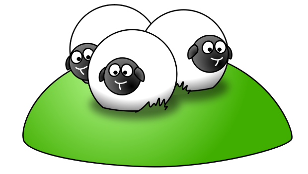 lemmling-Simple-cartoon-sheep-2 from OpenClipart.org