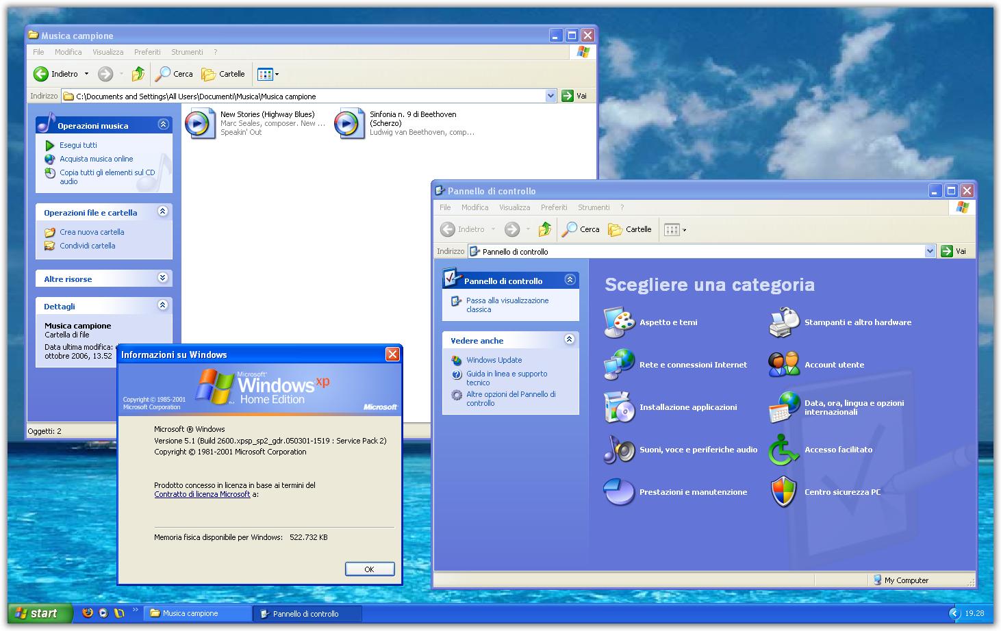 esame ECDL con Windows XP