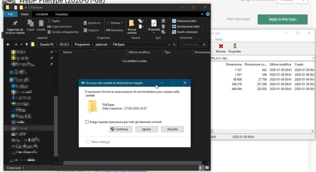 modificare file webp conferma